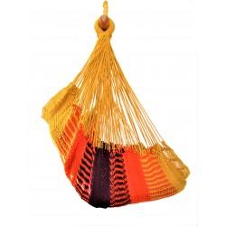 chaise mexicaine orange
