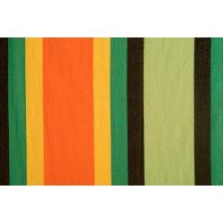 tissu géant orange vert