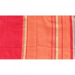 tissu épais rouge