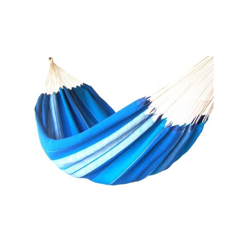 hamac deux places bleu