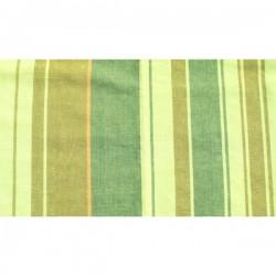 tissu coton vert Landes