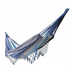 Hamac avec franges bleu