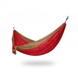hamac randonné rouge