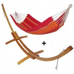 Kit Urbain hamac simple + support mélèze M