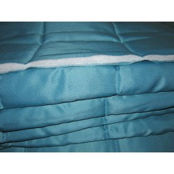 matelas bleu intérieur