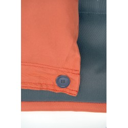 attache coussin orange