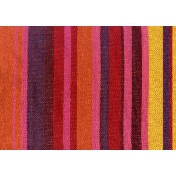 tissu hamac rouge