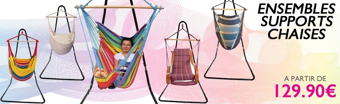 Ensembles support de hamac chaise pas chére petit prix.